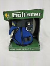 The Original Golfster Drink Holder/Desk Organizer - blue