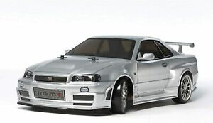 New Tamiya 1/10 RC Car No.605 NISMO R34 GT-R Z-Tune TT-02D Chassis Drift Spec