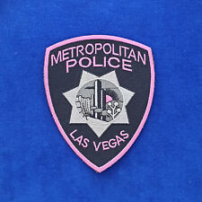 Las Vegas Metropolitan Police Pink Project Patch - Clark County Nevada #PUS1