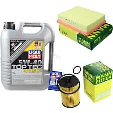 Inspection Kit Filter LIQUI MOLY Oil 5L 5W-40 For Mercedes Benz a Class W169