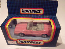MATCHBOX SUPERFAST,1:64, MACAU,#MB65, CADILLAC ALLANTE, PINK,IN NEVER OPENED BOX