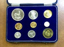 {BJSTAMPS} 1964 SOUTH AFRICA GOLD 1-2 RAND & SILVER  PROOF SET 3000 MINTAGE !