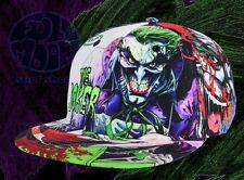 New DC Comics Joker Straight Razor Batman Mens Snapback Cap Hat