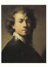 Rembrandt Self Portrait with Gorget Postcard unused VGC