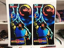 Mortal Kombat 2 Conversion Arcade Game Side art decal set