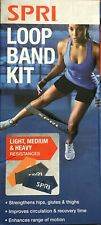 SPRI LOOP BAND KIT Light, Medium & Heavy Resistance fitness exercise Bands