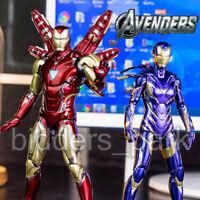 ZD Toys Avengers Endgame Iron Man MK49 Rescue Virginia Pepper Potts MK85 Figure