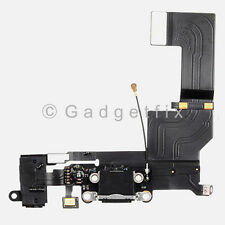 USB Charging Charger Port Dock Headphone Audio Jack Mic Flex Cable for Iphone 5S