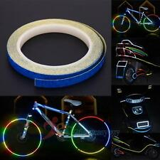 Reflective Bike Wheel Rim Stickers Safety Bicycle Cycling Reflector Tape