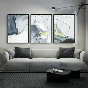 Modern Canvas Painting Posters Prints Abstract Art Wall Living Room Home Decor