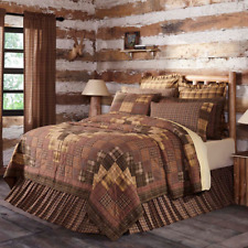 FARMHOUSE COUNTRY PRIMITIVE PRESCOTT PATCHWORK QUILTED BEDDING COLLECTION