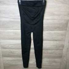 Blanqi Womens Size Medium Black Everyday Maternity Belly Support Leggings NWOT