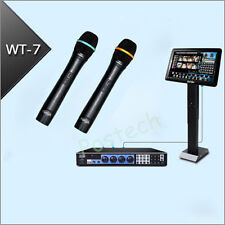 "KARAOKE machine System Jukebox 3TB HD +Wired Microphone+19"" Touchscreen Monitor"