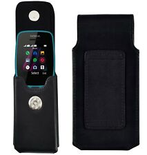 Nokia 110 Case Vertical Leather Case Cover With Belt Loop