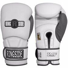 New Ringside Boxing MMA Kickboxing Gel Shock Safety Sparring 16oz Gloves - White