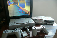 Sony playstation 1 console bundle with games