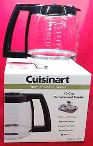 Cuisinart Macchina per il Caffè 12-Cup Vetro Caraffa, DCC-1200PRC Originale