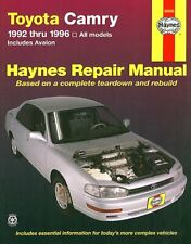Toyota Camry, Avalon Repair and Service Manual 1992-1996 by Haynes 92006