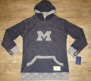 Michigan Wolverines Nuyu Baja Oversized Hoodie Jacket size Women's Large