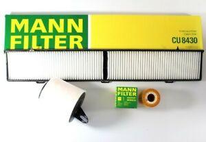 MANN-FILTERAir Oil Cabin Filters RAPKIT005 fits BMW 1 Series E87 116i 118i