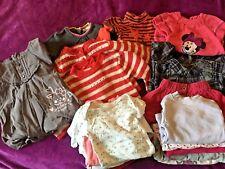 LOT Vêtements hiver bébé fille Robes Combinaison...ORCHESTRA DISNEY T 3 mois