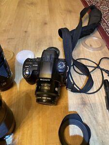 Sony SLT-A55 Spiegelreflexkamera Mit Mega Zubehör Paket