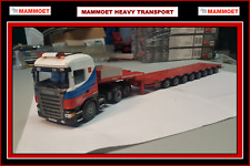 1 50 MAMMOET SCANIA with 8 axle LowLoader - FREE SHIPPING $$$$