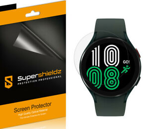 6X Supershieldz Clear Screen Protector Saver for Samsung Galaxy Watch 4 (44mm)