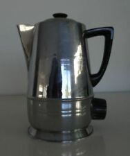Rare Vintage Staychrome J4 Electric Kettle Chrome on Copper, Made in New Zealand