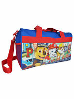 Nickelodeon Paw Patrol Polyester Duffel Bag Sleep Over Travel Carry for Children