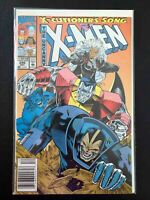 UNCANNY X-MEN #295 MARVEL COMICS 1992 VF+ NEWSSTAND