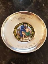 1997 Solid Silver & Enamel Dish From the News Trades Own Charity 69g