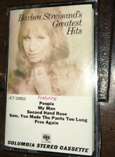 Barbara Streisand Greatest Hits Cassette Tape NEW