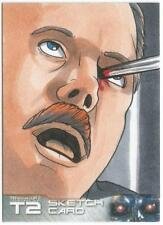 Terminator 2 Judgment Day Sketch Card drawn by Rich Molinelli