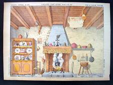 Pellerin Imagerie D'Epinal-Grand Theatre Nouveau No 1642 Rustic Kitchen Inv1758