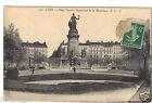 69 - cpa - LYON - Place Carnot - Monument de la République