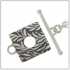 TB18 - Bali Sterling Silver 15mm FANCY Toggle Clasp