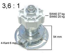Kegelradgetriebe Kurbelgetriebe 3,6:1 Rolladen Kurbel Getriebe Adapter SW40 SW60