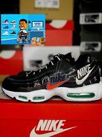 Nike Air Max 95 SE Men's Size 10 Shoes AJ2018 023 Multicolor Windbreaker Black