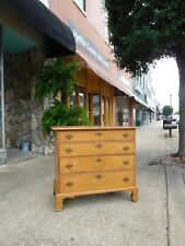 Outstanding New England Maple Chest Of Drawers 18th Century