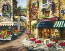 Clementoni Buon Appetito 3000 Piece Cafe Landscape Jigsaw Puzzle Made in Italy
