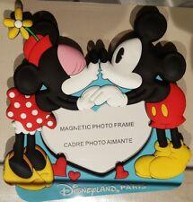 MAGNET PHOTO FRAME / CADRE PHOTO AIMANTE MK & MN BISOUS / Kiss Disneyland Paris