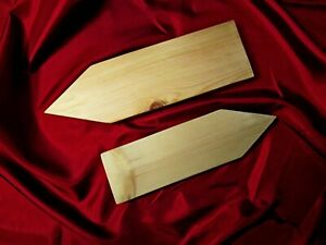 Plain CHARM HARD Wood Arrow Plaque Door Sign PLAIN Blank  ANY SIZE CONSIDERED