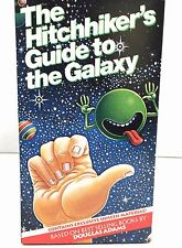 The Hitchhikers Guide To The Galaxy VHS Boxed Set 2 Tapes 1 Book BBC Mini Series
