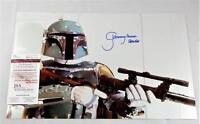 "JEREMY BULLOCH ""BOBA FETT"" SIGNED STAR WARS 11x17 METALLIC PHOTO AUTOG ID: 6535"