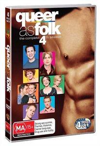 Queer As Folk US Series : SEASON 4 : NEW DVD