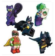 "20 Lego Batman Movie Shaped Stickers, Approx 2"" x 2.25"" Each, Party Favors"