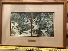 "BEV DOOLITTLE ""THE FOREST HAS EYES"" COLOR OFFSET BOOK LITHOGRAPH"" Limited Ed"