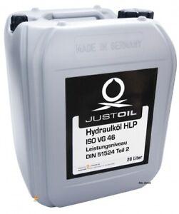 JustOil Hydrauliköl HLP 46 20L