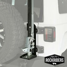 Smittybilt 2884 Trail Jack Mount Fits Pivot Tire Carrier 2007-2017 Jeep Wrangler